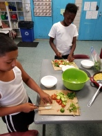 Lesson 4 Chopping Up Ingredients of Tabbouleh